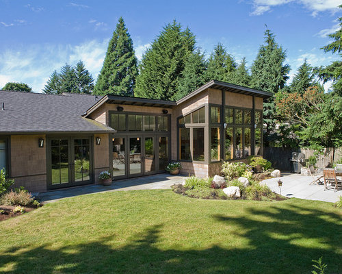 Roof line houzz for Northwest contemporary design