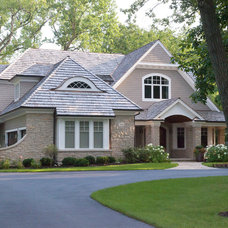 Traditional Exterior by Red Rock Custom Homes, Inc.