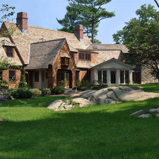 Traditional Exterior by Stephen R. Holt Architects