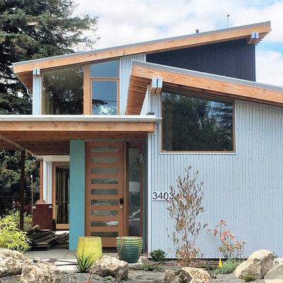 Contemporary Exterior by m.o.daby design