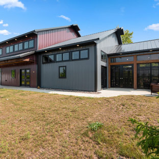 Not Your Grandfather's Barn! A Modern Pole Barn House in Lauderdale Lake Area