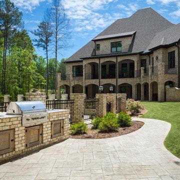Nottingham Tudor Brick Home - Alabama