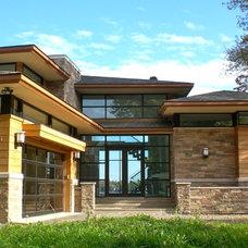 Contemporary Exterior by kevin akey -azd architects - florida