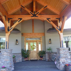 Craftsman Exterior by Chilton Custom Homes