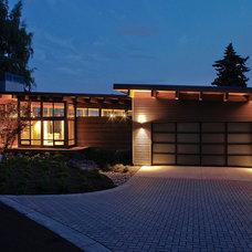 Modern Exterior by Hammer & Hand