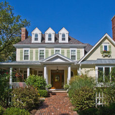 Traditional Exterior by Bertrand Landscape Design
