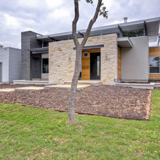 Contemporary Exterior by Adam Wilson Custom Homes