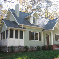 Traditional Exterior by J. Smyth Design, LLC