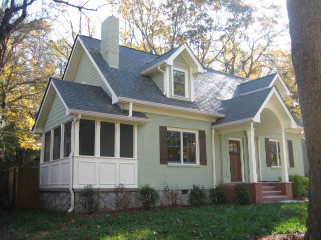 Traditional Exterior by J. Smyth Design, LLC