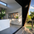 Hill House Modern Exterior Melbourne By Mihaly