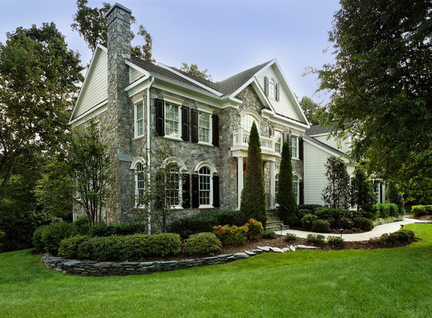 Traditional Exterior by WINN Design+Build