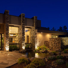 Contemporary Entry by McSpadden Custom Homes