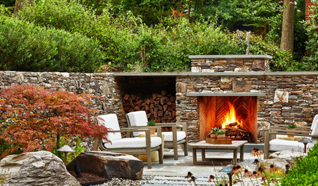 Patio of the Week:  A Blend of European and Japanese Styles