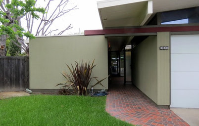 My Houzz: Yard Seals the Deal for an Eichler Home