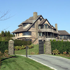 Traditional Exterior by Steven Laurin & Company