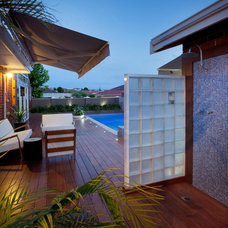 Beach Style Exterior by Outside In