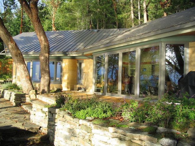 Contemporary Exterior by Gaulhofer Windows