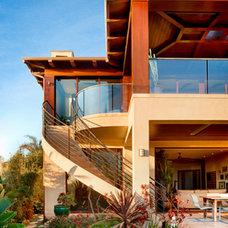 Contemporary Exterior by Tomaro Design Group
