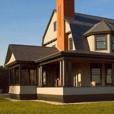Traditional Exterior by Salmon Falls Architecture