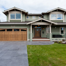 Craftsman Exterior by Kenorah Design + Build Ltd.