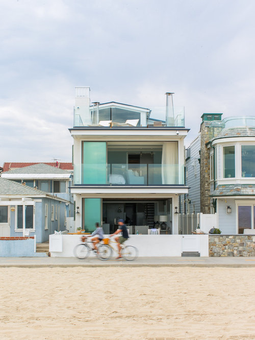 Best Beach Style Exterior Home Design Ideas Remodel Pictures Houzz