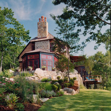 Traditional Exterior by Priestley + Associates Architecture