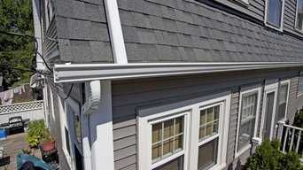 "Odyssey 4"" Clapboard Siding (Storm) with Owens Corning Estate Gray Roofing"