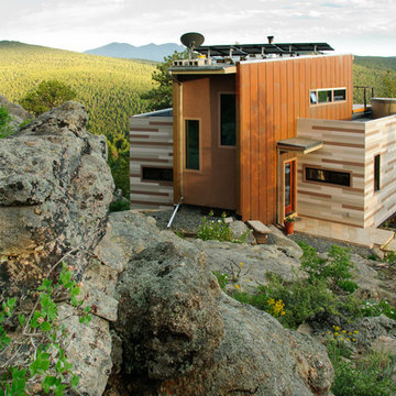 Off Grid Mountain Container Home
