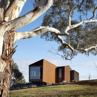 Inspiration for a contemporary exterior in Geelong.