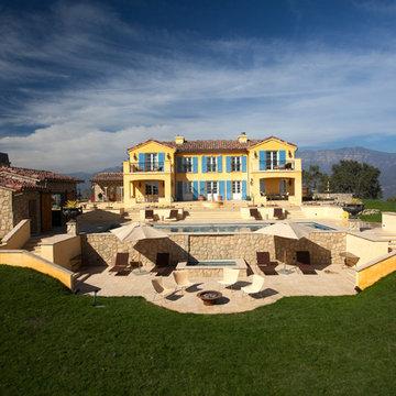 Ojai CA - French Provincial - Insulated Concrete Forms