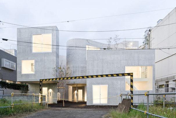 Contemporary Exterior Okurayama Apartments