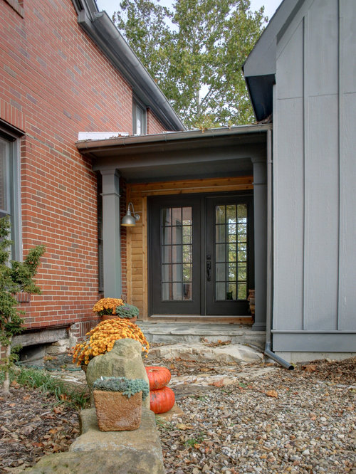 Brick House Addition In Dublin: Addition To Old Brick Farmhouse Home Design Ideas, Pictures, Remodel And Decor