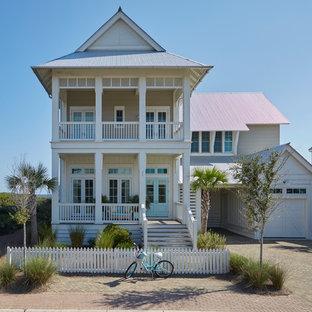 75 Beach Style Exterior Home Design Ideas - Stylish Beach Style ...
