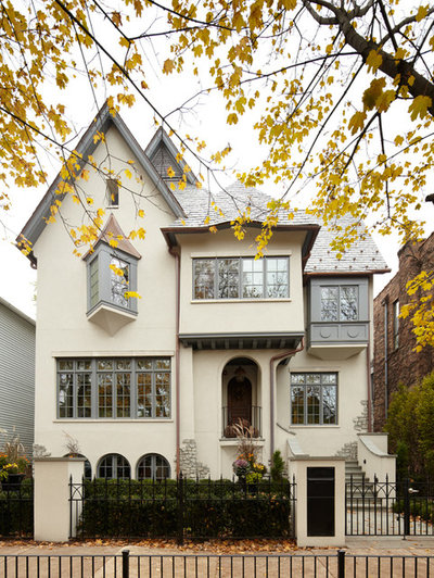Traditional Exterior by Jeannie Balsam Interiors