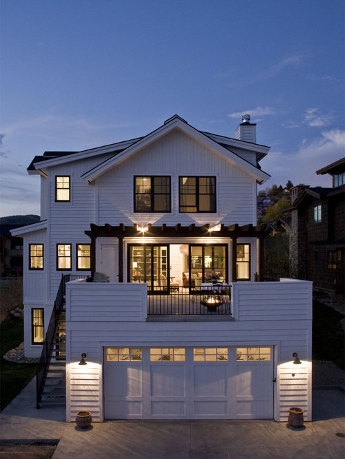 Garage deck houzz for House on top of garage