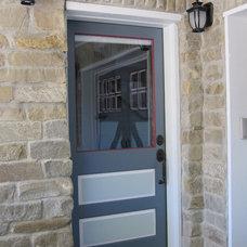 Traditional Exterior by Monique Jacqueline Design