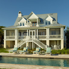 Tropical Exterior by Structures Building Company