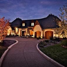 Traditional Exterior by Dan Waibel Designer Builder
