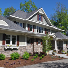 Traditional Exterior by Insignia Homes