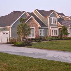 Contemporary Exterior by Weaver Custom Homes