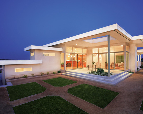 Emejing Flat Roof Home Designs Contemporary   3D House Designs .
