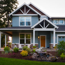 Traditional Exterior by Paradise Restored Landscaping & Exterior Design
