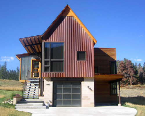 Rusted Metal Siding Ideas Pictures Remodel And Decor