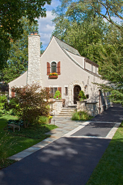 Traditional Exterior by Hursthouse Landscape Architects and Contractors