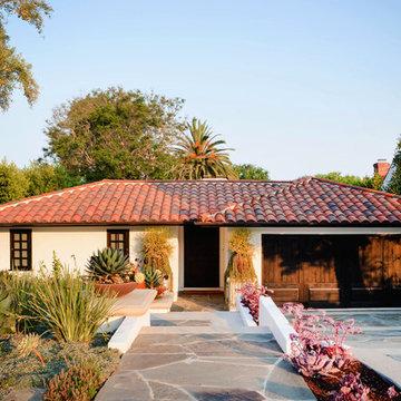 One-Story Spanish Home