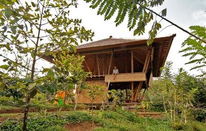 Casas Houzz: Una casa en Bali para disfrutar de la naturaleza