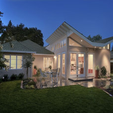 Contemporary Exterior by Chris Donatelli Builders