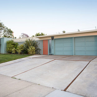Orange County- Eichler Exteriors Make Stunning First Impressions,