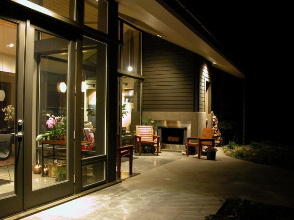 Contemporary Exterior by Jeff Luth - Soldano Luth Architects