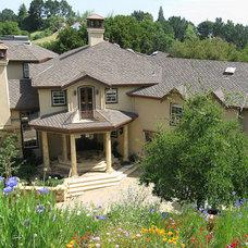 Traditional Exterior by Glenn Robert Lym Architect